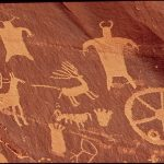 Native american cave art