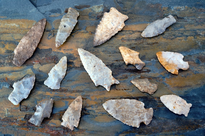 how to find arrowheads