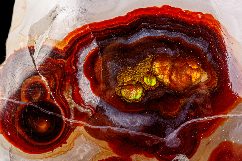 fire agate arizona desert